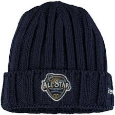 Шапка Reebok Navy 2016 NHL All-Star Game Cuffed Knit Hat