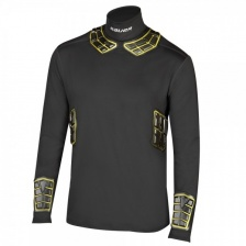 Термо-футболка Bauer Elite Padded Integrated Neck LS BL Top Sr