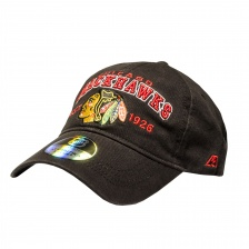 "Бейсболка ""NHL Chicago black Hawks Est. 1926"" черная"